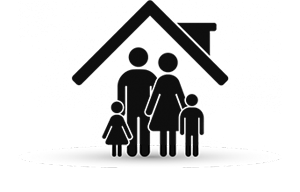 Family and finances icon